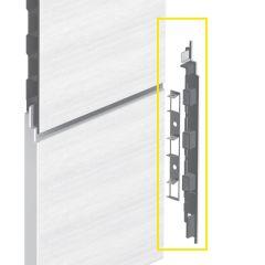 Keralit Eindkap rechts voor sponningdeel 190 mm (bestelnr. 2885)