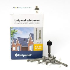 Unipanel Schroef 4 x 50 mm incl. dopjes