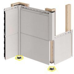 Keralit Eindkap voor Hoekprofiel 32x32 mm (bestelnr. 2829)