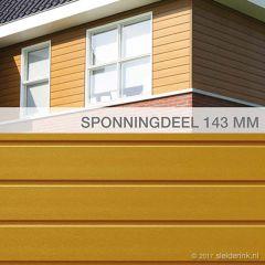 Keralit Sponningdeel 143 mm (bestelnr. 2814)