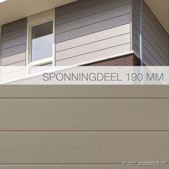 Keralit Sponningdeel 190 mm (bestelnr. 2819)