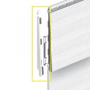 Keralit Eindkap links voor potdeksel 177 mm (bestelnr. 2874)