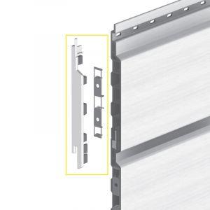 Keralit Eindkap links voor sponningdeel 143 mm (bestelnr. 2860)