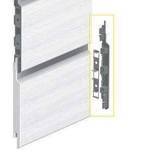 Keralit Eindkap rechts voor sponningdeel 143 mm (bestelnr. 2865)