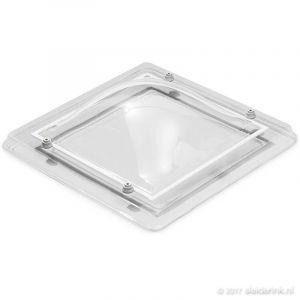Lichtkoepel 80x80 cm Dubbelwandig Bolvormig helder Acrylaat