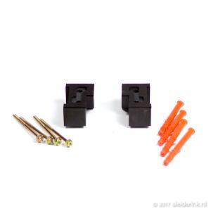 DTS Zijneuten Binnendraaiend 67 x 114 mm - Set R+L