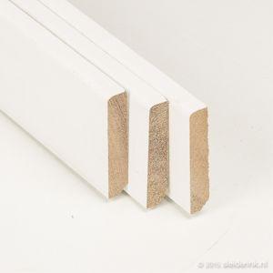 Hardhouten Plint Gevingerlast Gegrond 9 mm