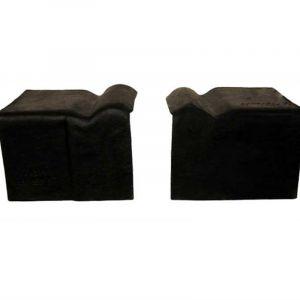 Landini Vezelcement Topgevelstuk 2-delig - Zwart