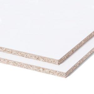 Spaanplaat Geplastificeerd Wit 2500x1250x18mm