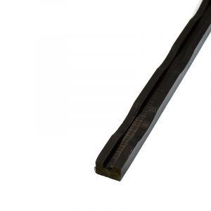Ventilatielat Geïmpregneerd Zwart Gegrond 28x45