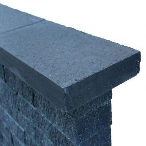 Wallblock Afdekplaat 60x30x6 cm Antraciet