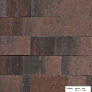 Wallblock New 12x12x60 cm Brons