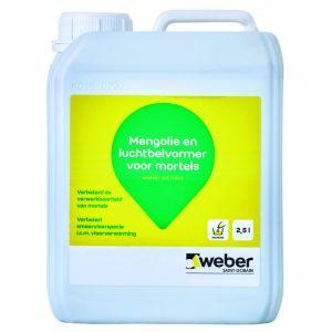 Weber.ad Mics Mengolie Transparant 2.5 Liter