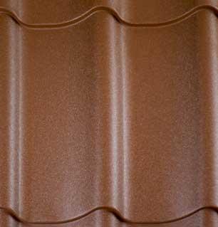Stalen dakpanplaten Terracotta