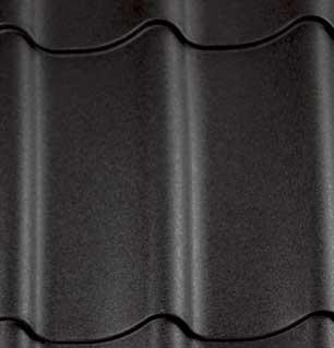 Stalen dakpanplaten Zwart