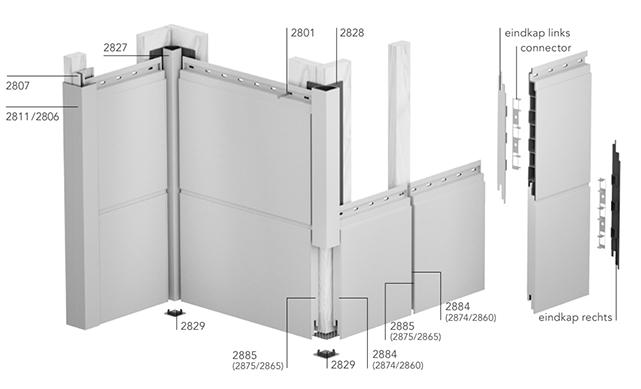 Montagevoorbeeld Keralit Hulpstukken