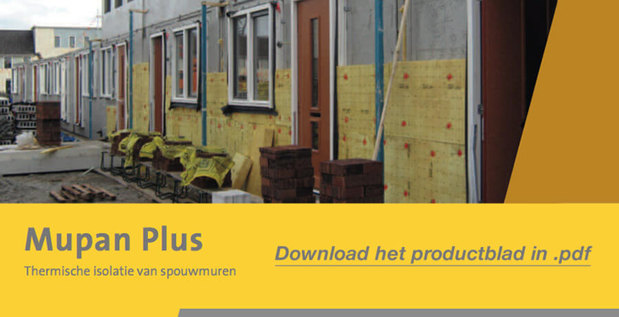 Download het Isover Mupan Plus productblad in .pdf
