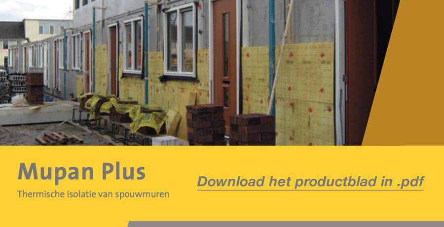 Download het Isover Mupan Plus productblad in .pdf